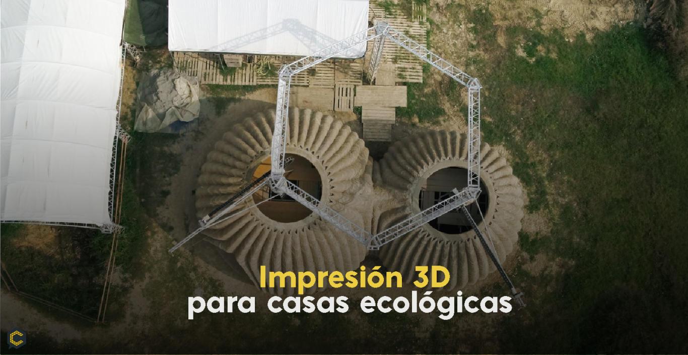 Impresión 3D para casas ecológicas