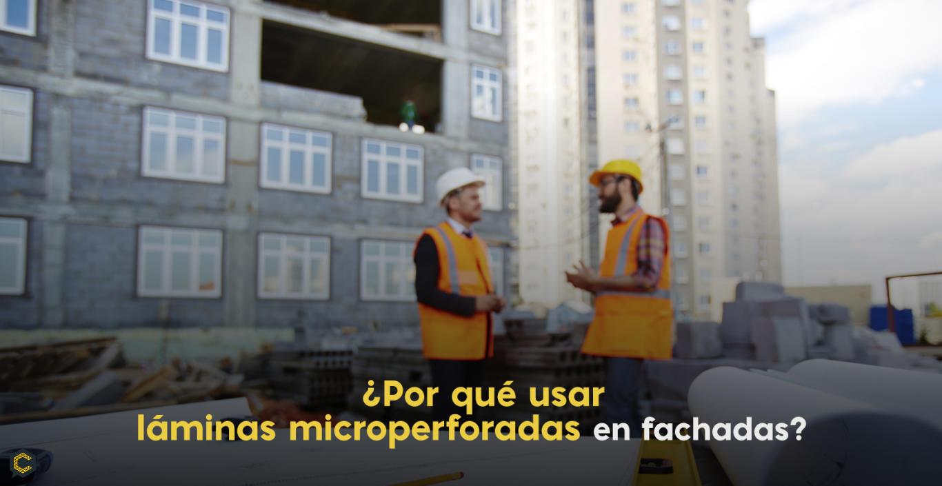 ¿Por qué usar láminas microperforadas en fachadas?