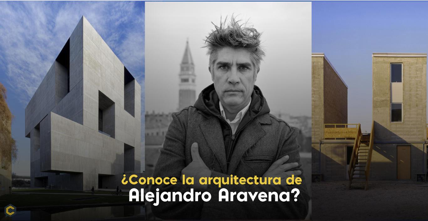 ¿Conoce la arquitectura de Alejandro Aravena?