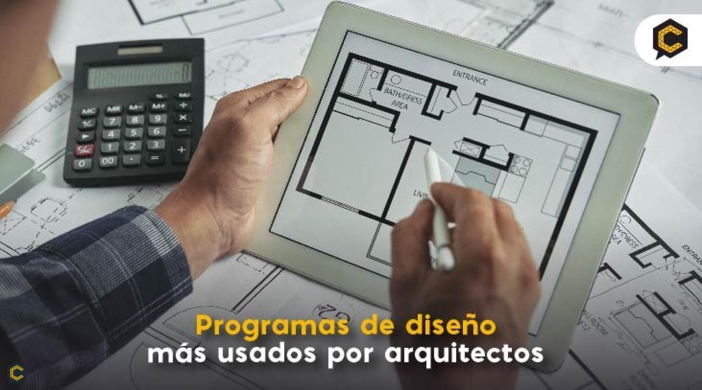 Programas de diseño más usados por arquitectos
