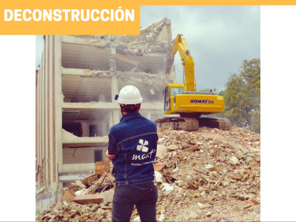 Demolición Selectiva: La solución ambiental que optimiza los proyectos de deconstrucción.