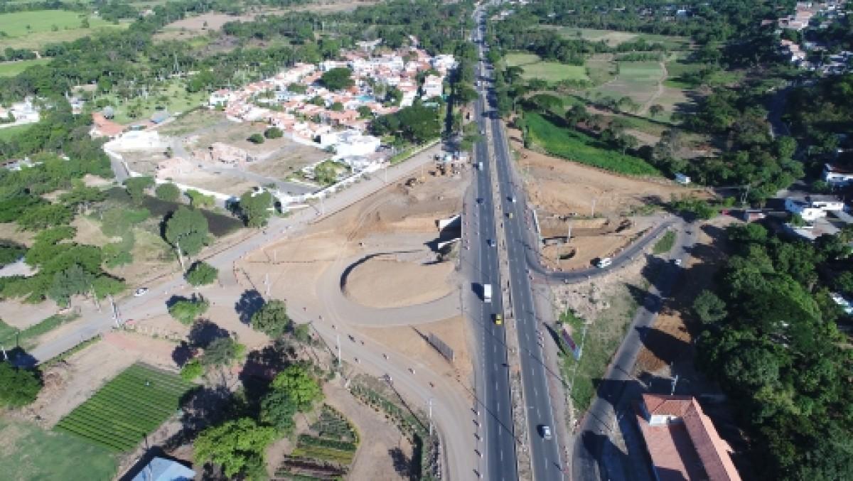 Con la construcción de la intersección a desnivel de Rumichaca, avanzan obras del proyecto área metropolitana de Cúcuta y norte de Santander