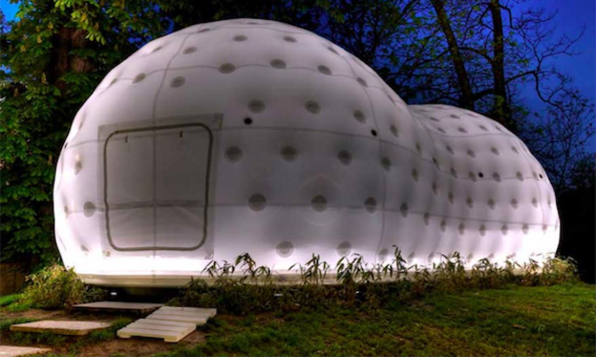 Nuevas formas de habitar arquitectura neum tica un nuevo for Construcciones efimeras