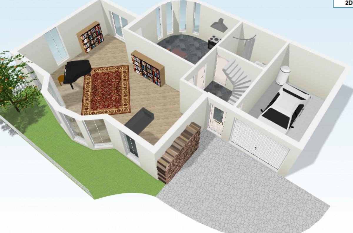 5 interesantes aplicaciones para crear planos de casas for Hacer casas en 3d online