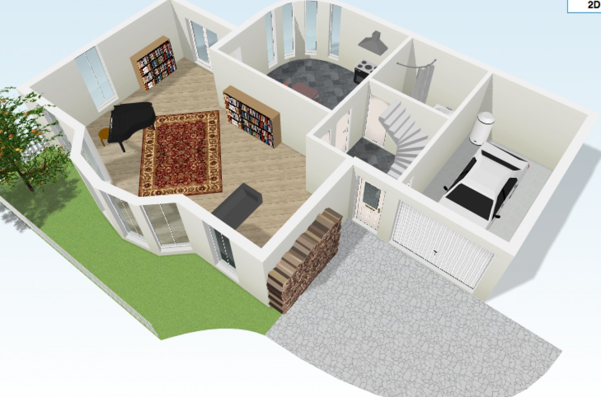 5 interesantes aplicaciones para crear planos de casas for Hacer planos 3d
