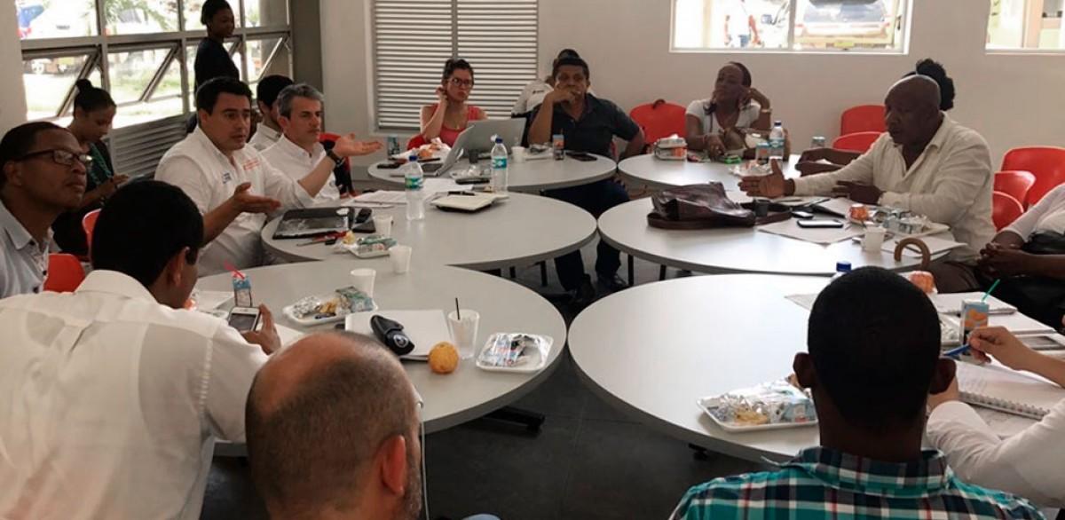 Se cumplió seguimiento a acuerdos con la comunidad del Chocó