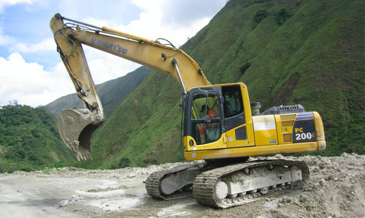 Maquinaria amarilla en subasta, lo mejor para el sector de la construcción en Colombia