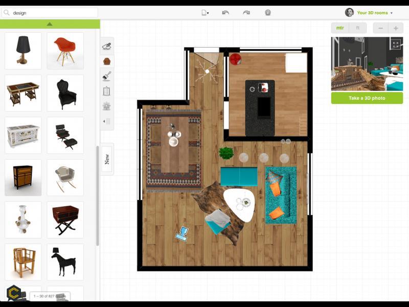 Famosas aplicaciones gratuitas para hacer planos de casas for Aplicacion para planos