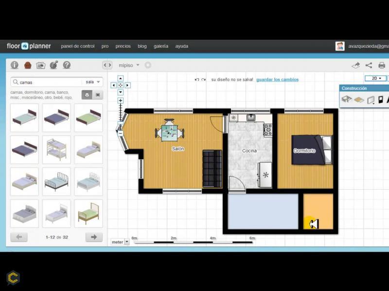 Famosas aplicaciones gratuitas para hacer planos de casas for Hacer planos online