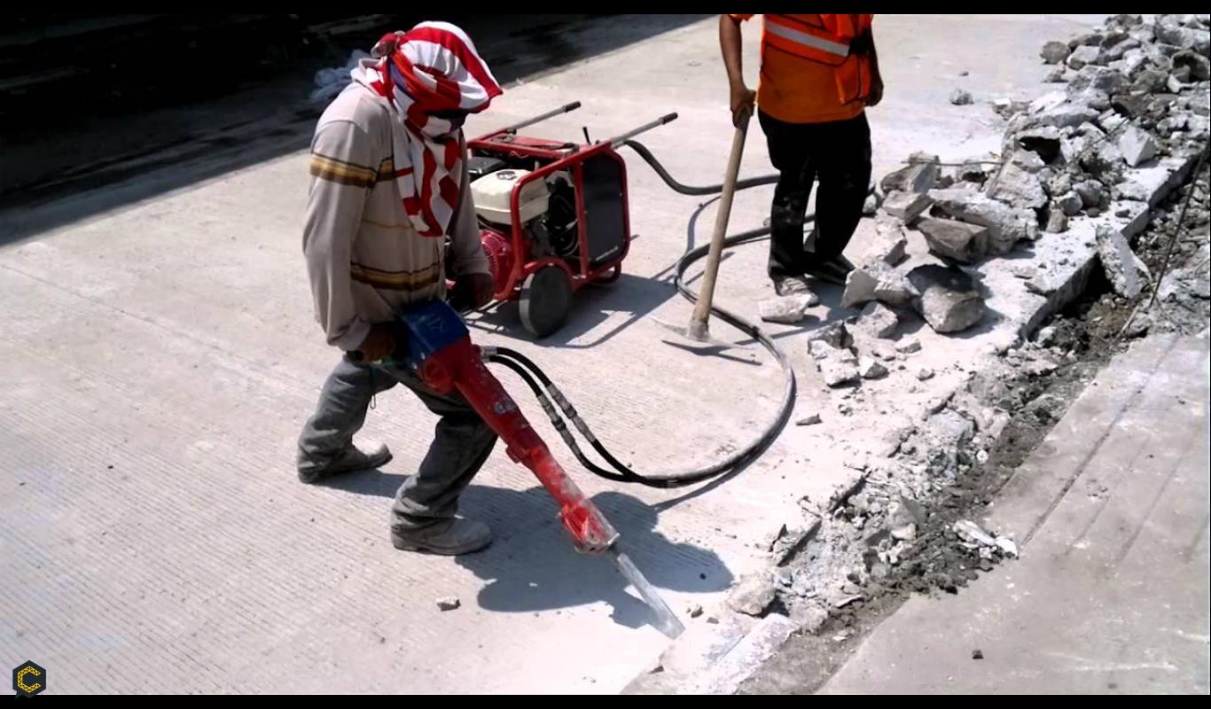 Se solicita subcontrato para demoler pavimento