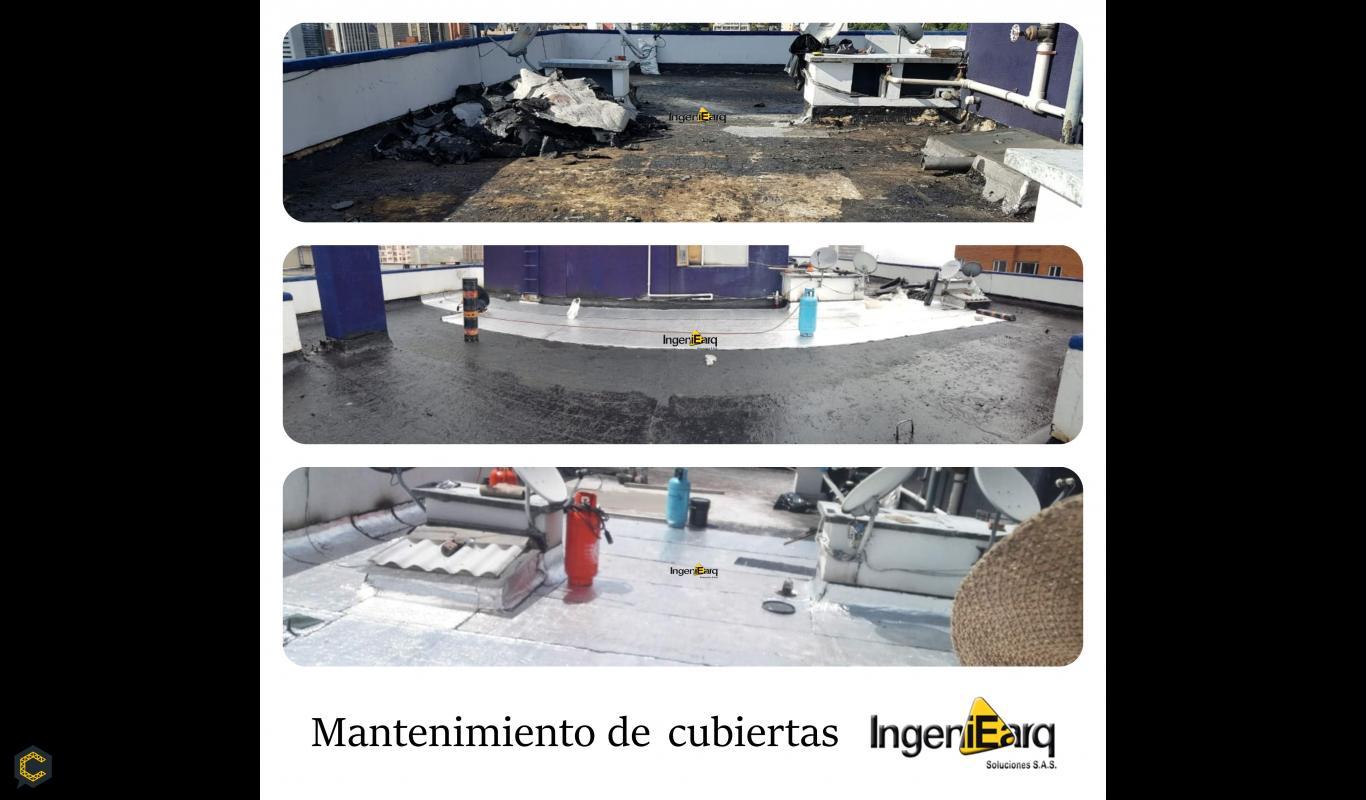 NUESTRO PORTAFOLIO: Mantenimiento de cubiertas