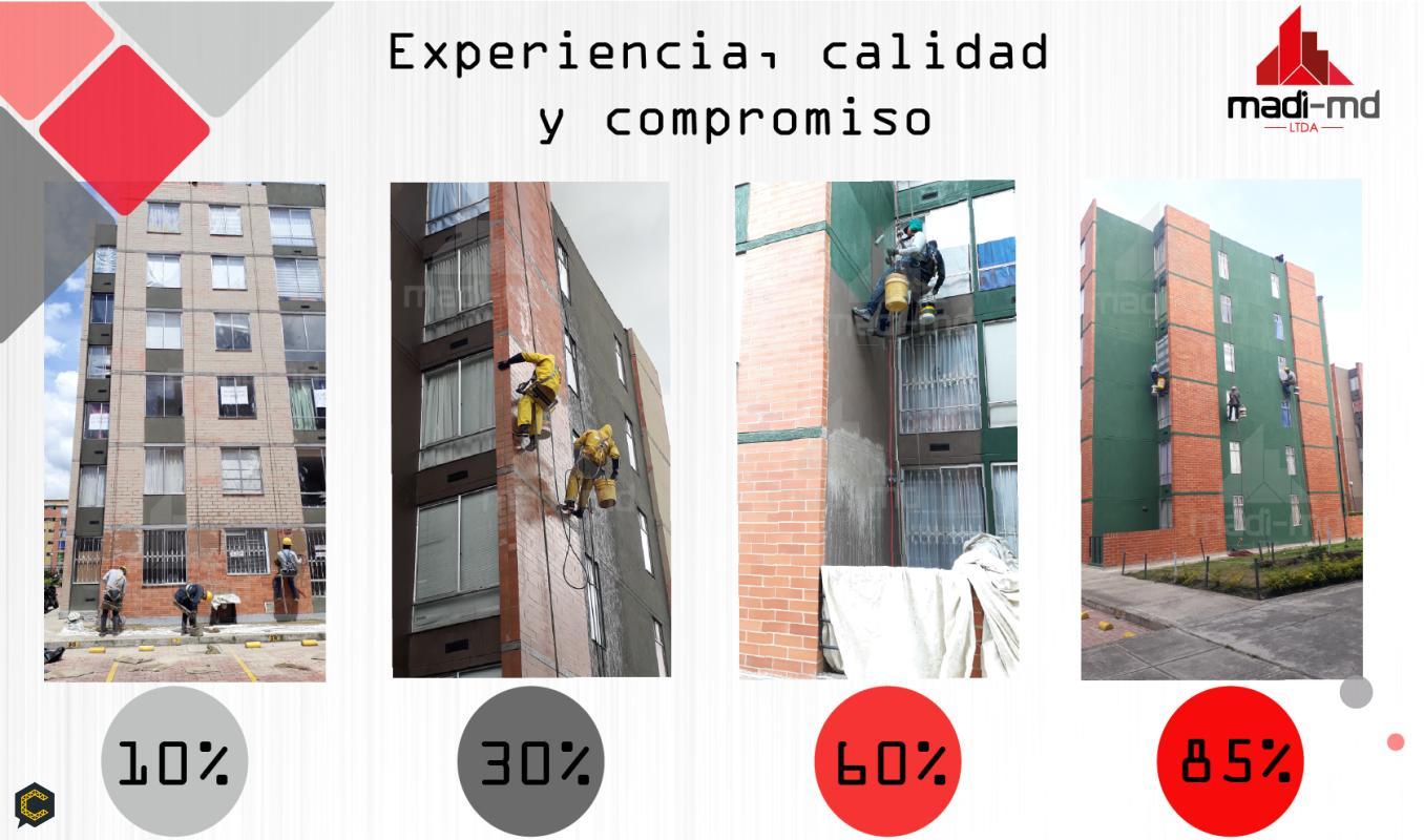 Avance de nuestro trabajo  Equipo especializado para desarrollar servicios con alta eficiencia y productividad
