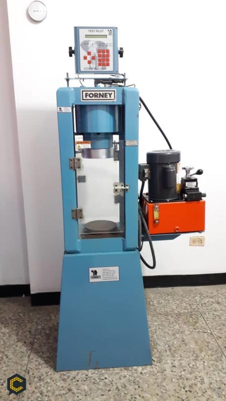 Prensa hidraulica ensayos de cilindros de concreto vigas