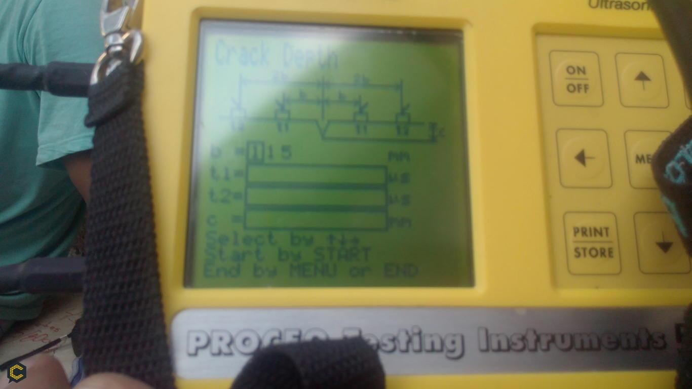 Método de ensayo para determinación de la velocidad del pulso ultrasónico a través del concreto