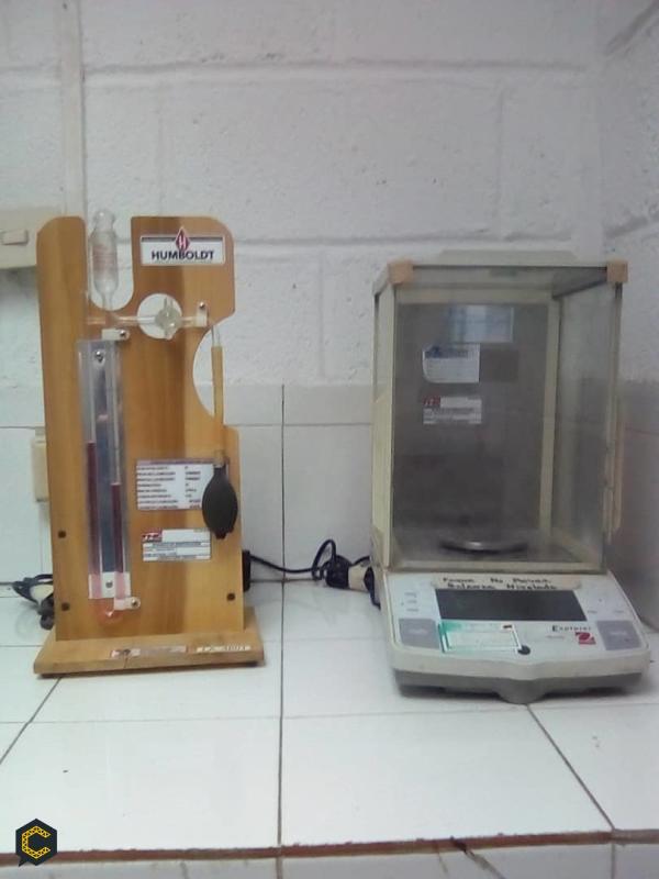 Metodo de ensayo para determinar el tiempo de fraguado del cemento hidraulico mediante el aparato de Vicat