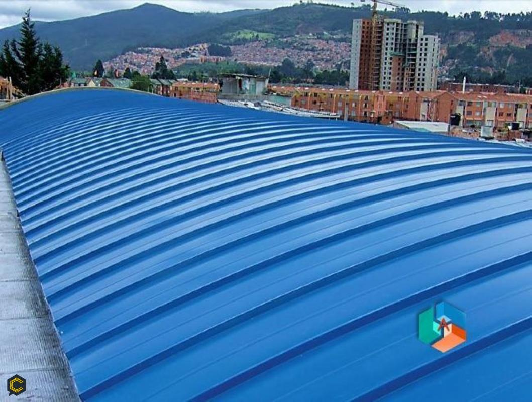 Instaladores de cubierta teja standing seam Btá.