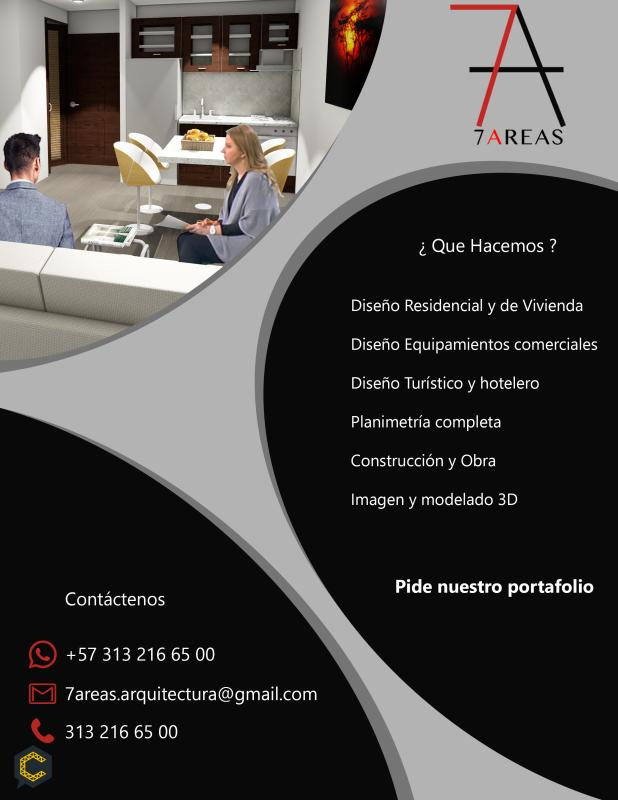 Ofrecemos nuestros Servicios, Arquitectura y Diseño