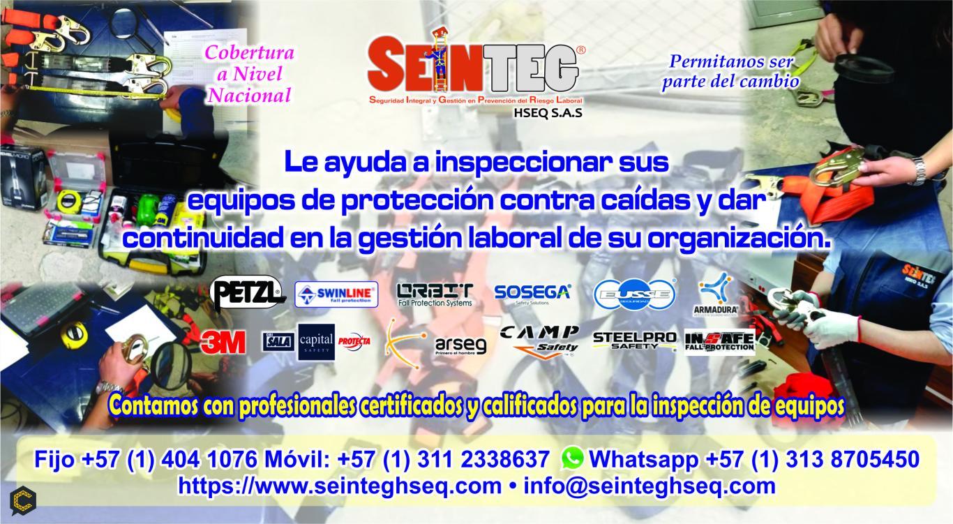 Servicio de Inspección de Equipos para Trabajo Seguro en Alturas