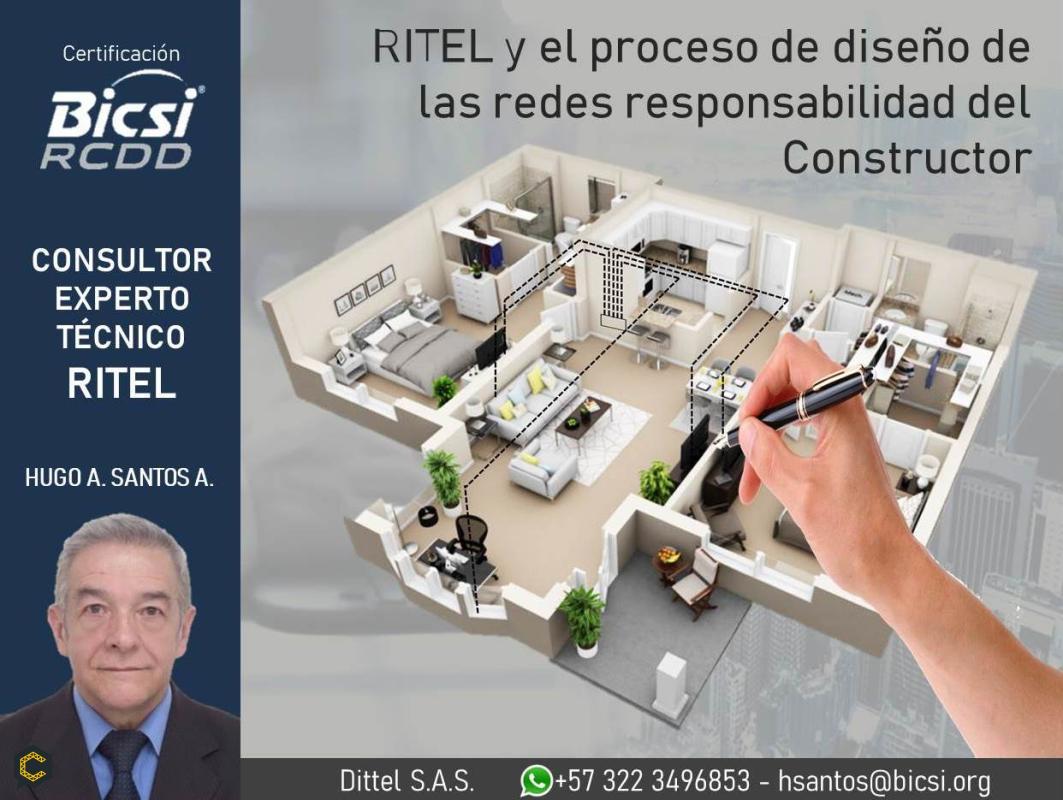 """""""RITEL y el proceso de diseño de las redes responsabilidad del Constructor"""""""