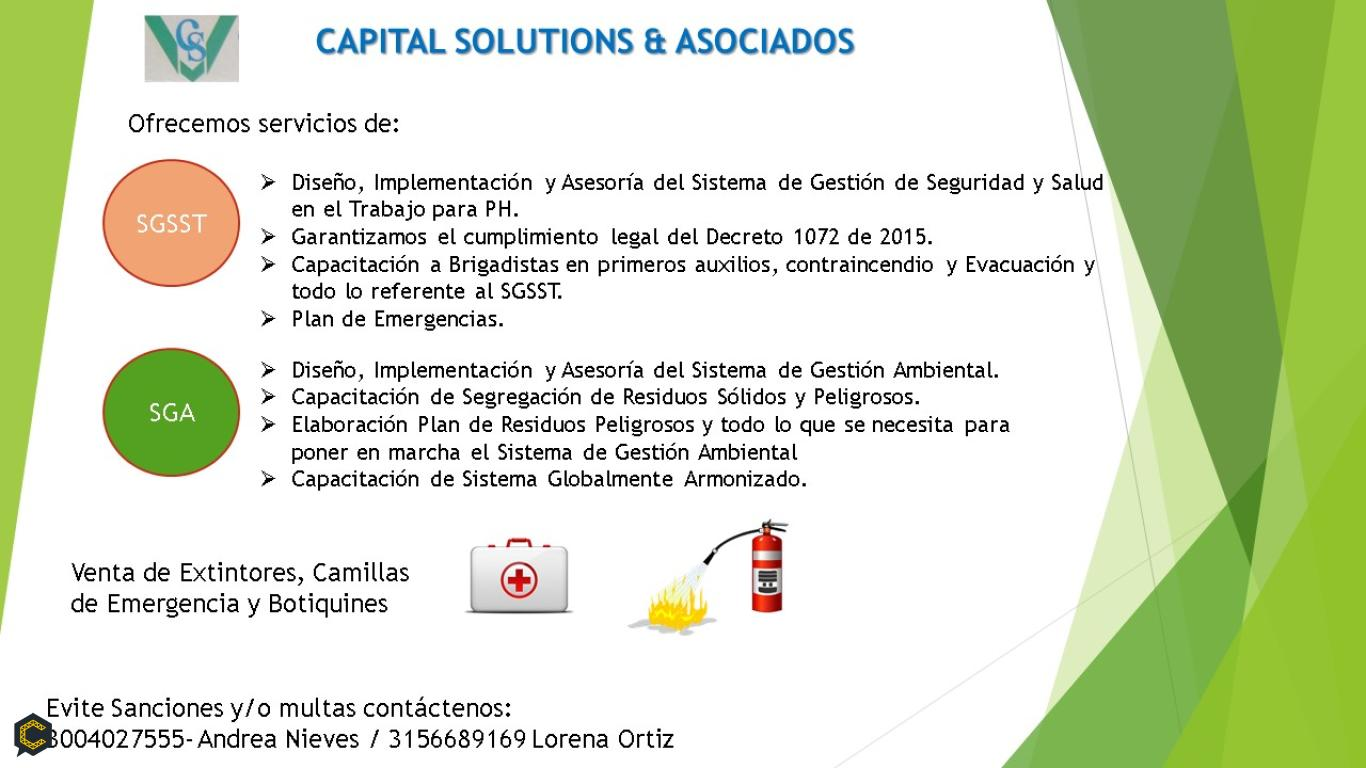 CAPITAL SOLUTIONS  & ASOCIADOS