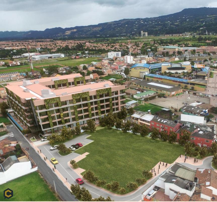 Venta de terrenos para el desarrollo de proyectos inmobiliarios.