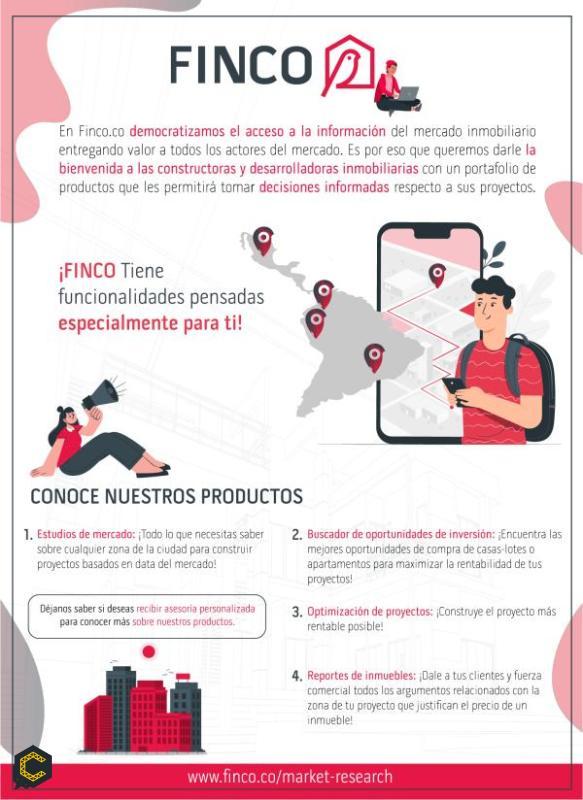 ¿Sabías que en FINCO 🦜 tenemos un portafolio de servicios diseñado especialmente para #constructoras?