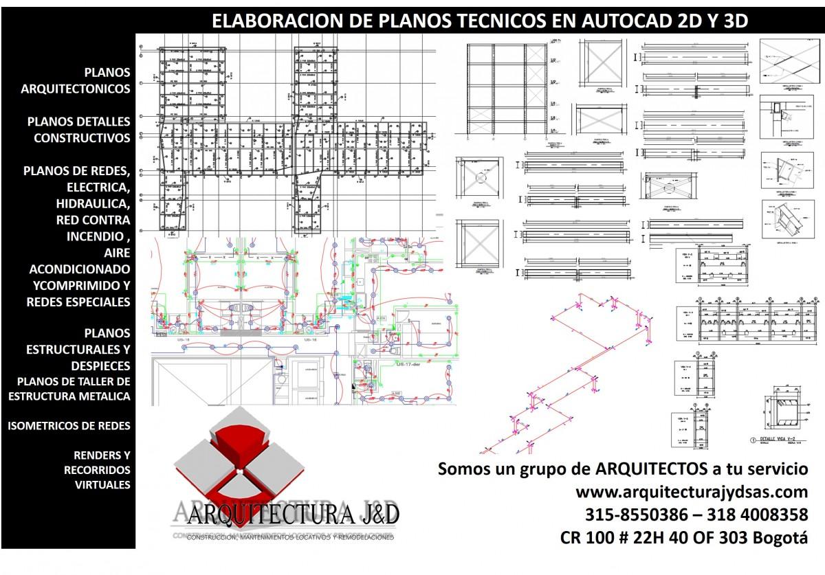 Planos tecnicos autocad construyored for Planos tecnicos arquitectonicos