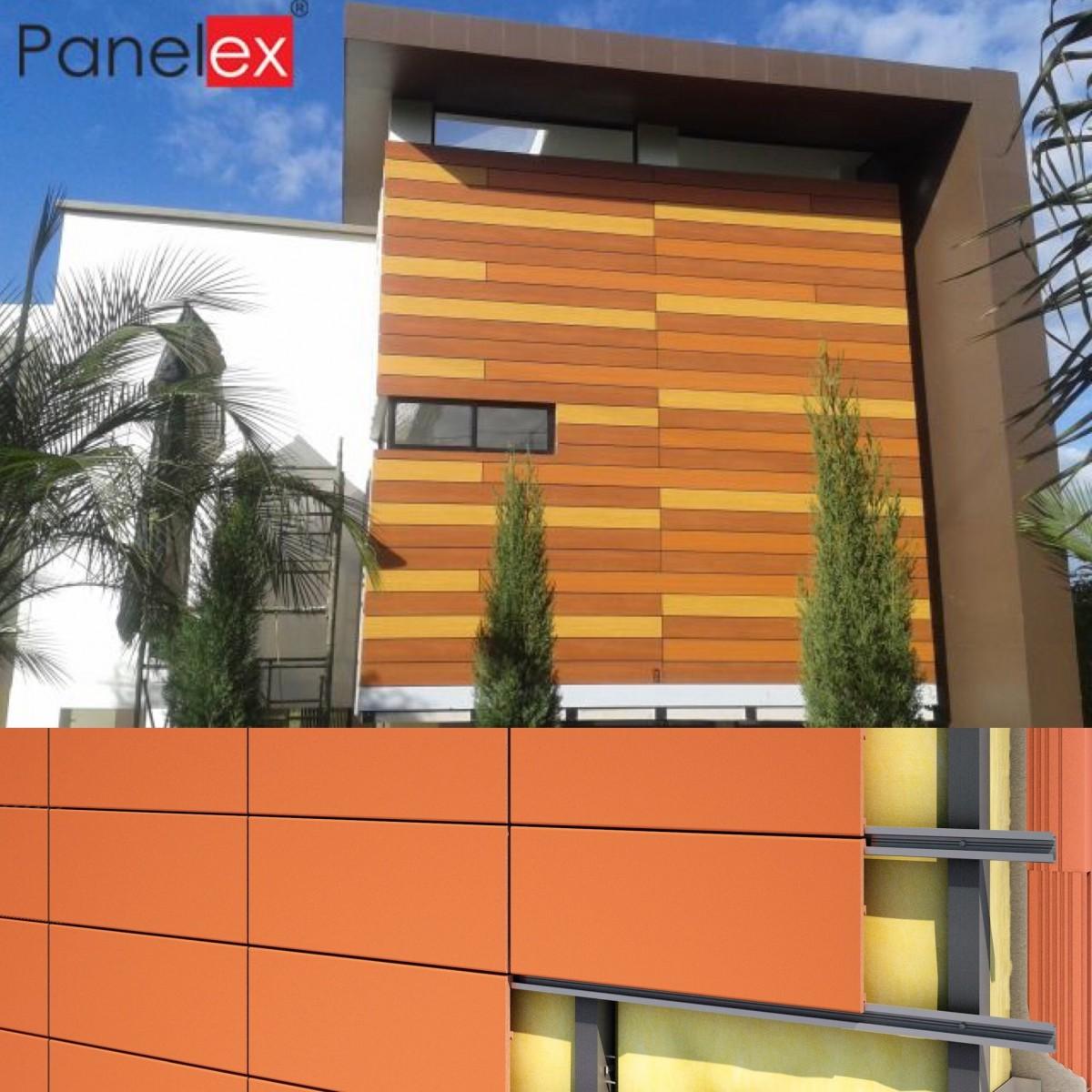Revestimiento de fachadas panelex construyored - Revestimiento de fachadas ...