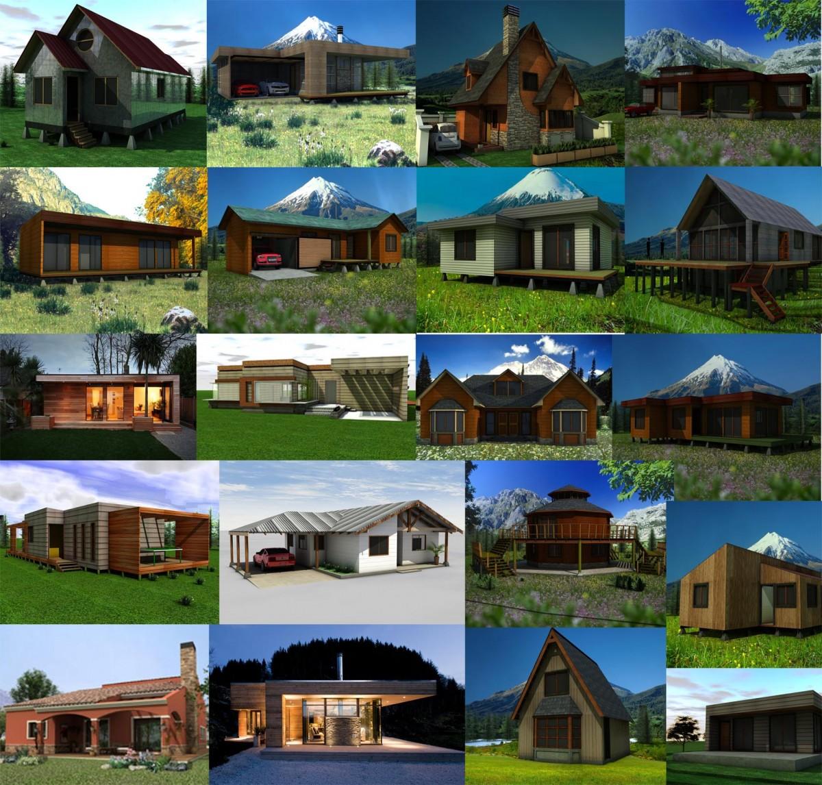 Dise o de casas planos modelos 3d construyored - Diseno de casas 3d ...