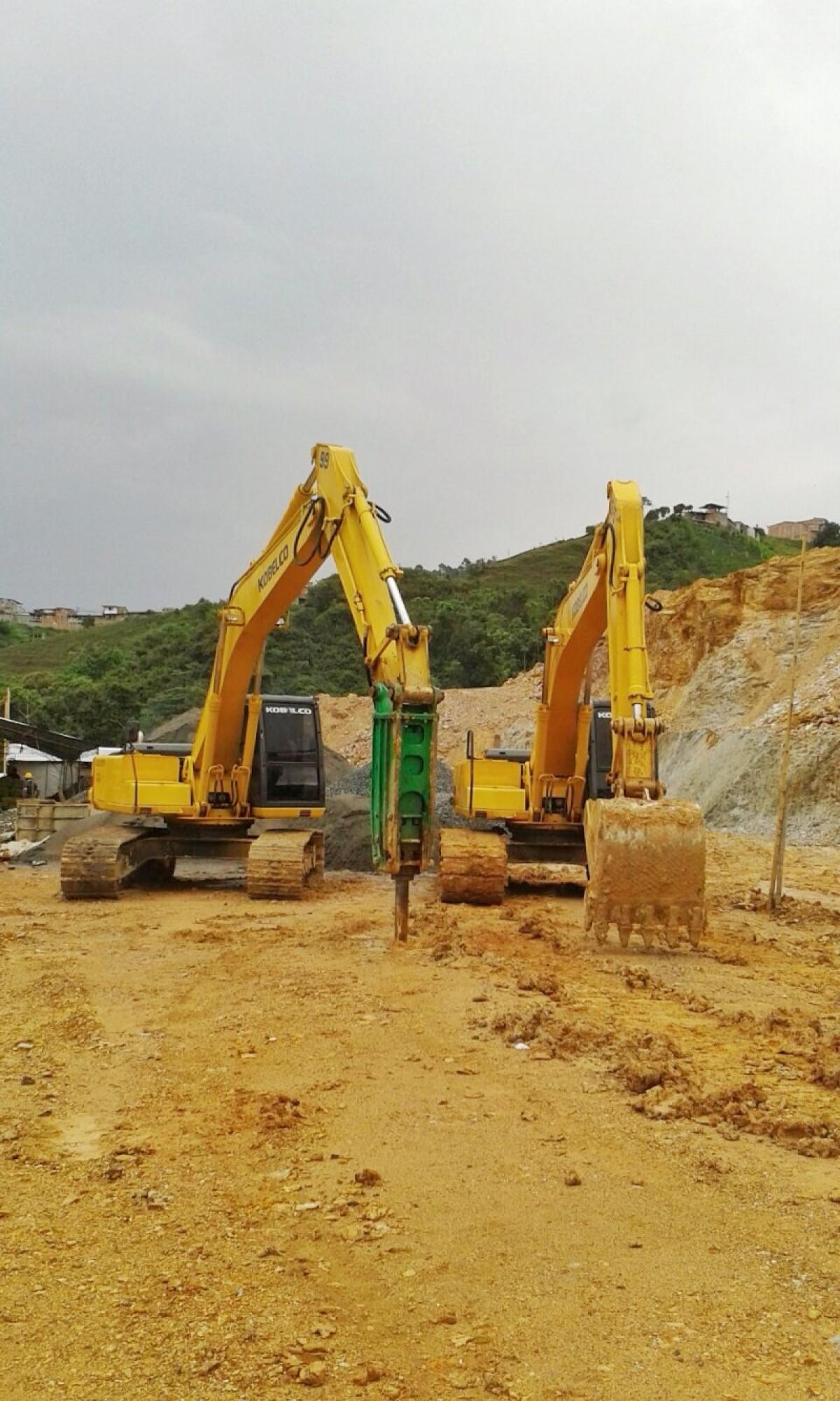 Alquiler Excavadora Kobelco SK 2000 Marck IV