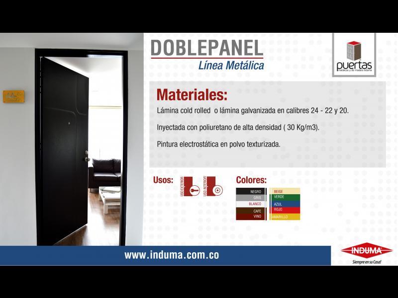 Puerta Doble Panel