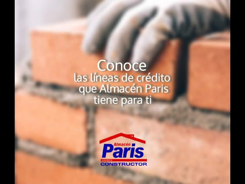 Conoce los Créditos de Almacén Paris