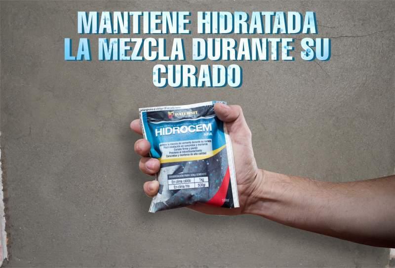 Hidratante para mezclas de Concreto y Mortero