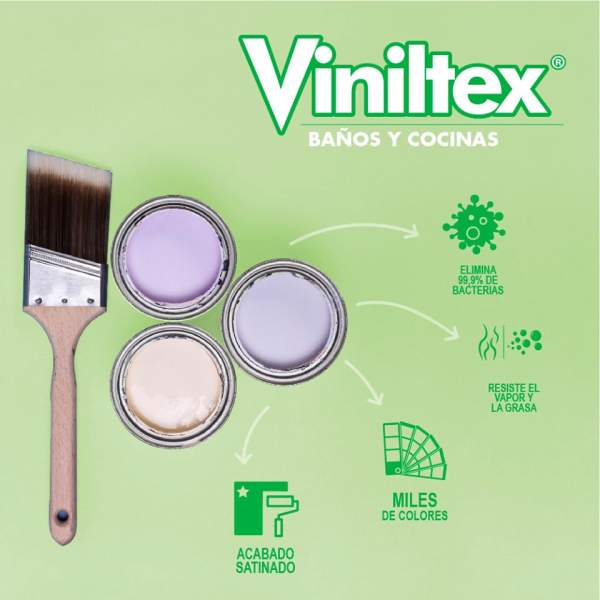 Viniltex Baños y Cocinas