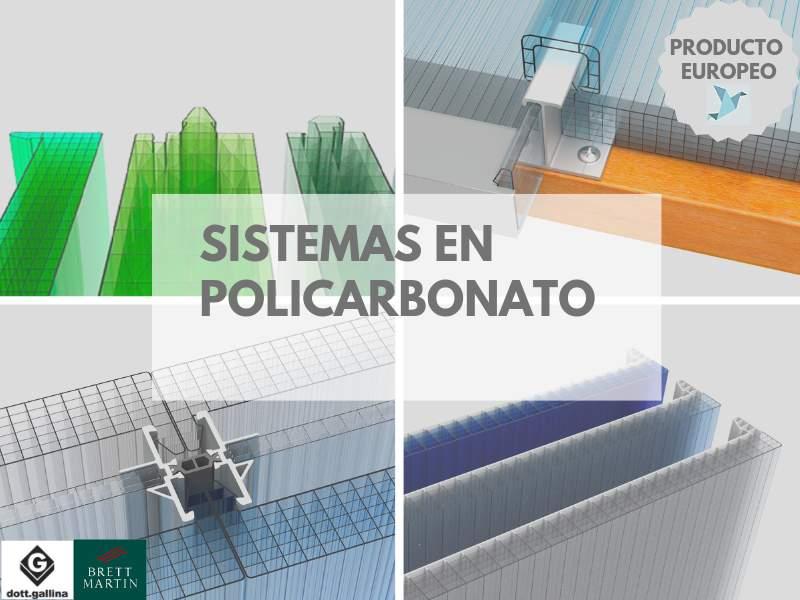 LÁMINA POLICARBONATO SISTEMAS