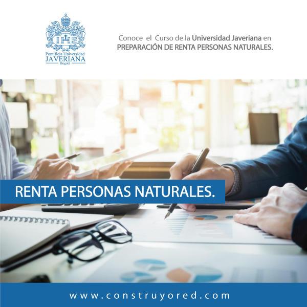 Preparación de Renta Personas Naturales