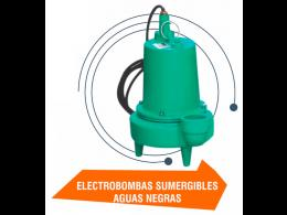 Electrobombas Sumergibles Aguas Negras